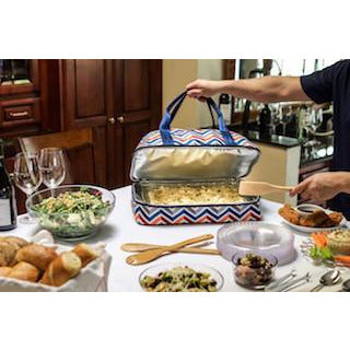 Potluck food holder - Elegant Touch Gourmet and Wine