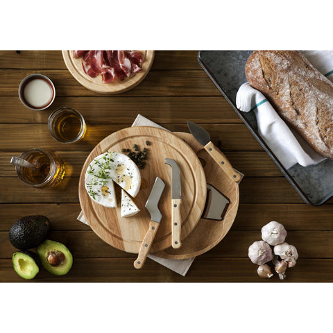 Circo Round Cutting Board and Server - Elegant Touch Gourmet and Wine