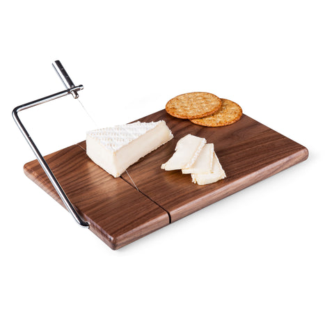 Cheese board with cheese slicer - Elegant Touch Gourmet and Wine