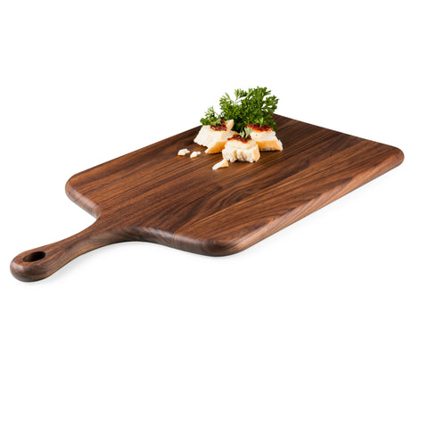 Wooden Serving Paddle and Cutting Board - Elegant Touch Gourmet and Wine