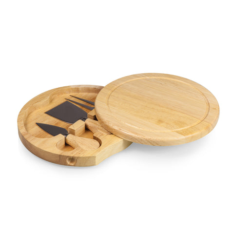 Mini-round cheese cutting board and server - Elegant Touch Gourmet and Wine