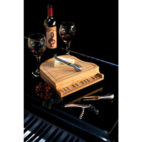 Piano Cheese Board - Elegant Touch Gourmet and Wine