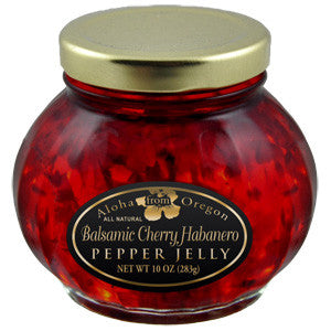 Aloha From Oregon Balsamic Cherry Pepper Jelly - Elegant Touch Gourmet and Wine