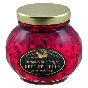 Aloha From Oregon Balsamic Grape Pepper Jelly - Elegant Touch Gourmet and Wine