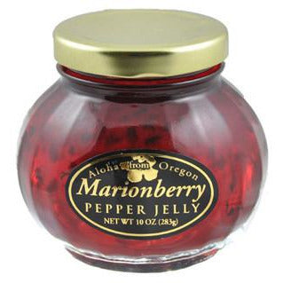 Aloha From Oregon Marionberry Pepper Jelly - Elegant Touch Gourmet and Wine