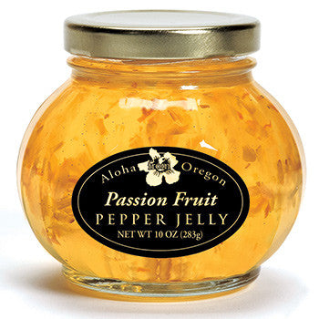 Aloha From Oregon Passion Fruit Pepper Jelly - Elegant Touch Gourmet and Wine
