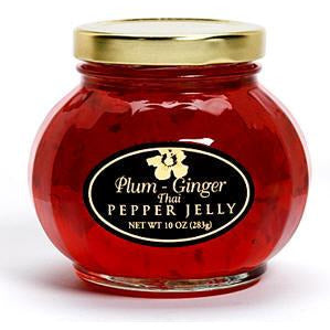 Aloha From Oregon Plum Ginger Thai Pepper Jelly - Elegant Touch Gourmet and Wine