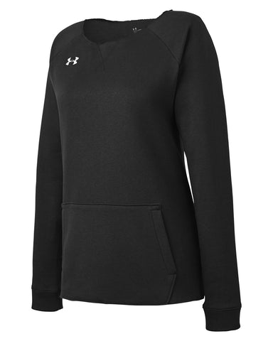 Under Armour Ladies' Hustle Fleece Crewneck Sweatshirt 1305784