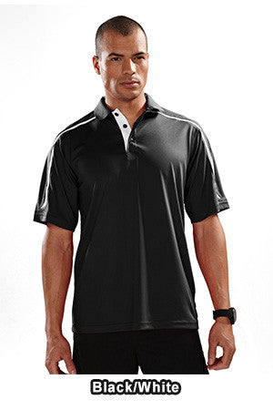 Tri Mountain 174 - Titan Colorblock Performance Polo TALL