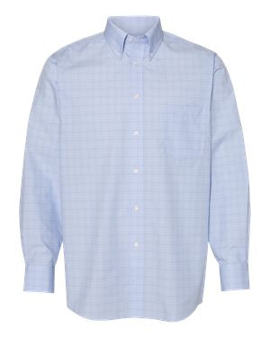 Van Heusen - Blue Suitings Non-Iron Patterned Shirt - 13V0467