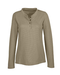 North End 78221 - Ladies Excusion Nomad Performance Waffle Henley