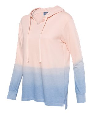 MV Sport - Women's French Terry Ombré Hooded Sweatshirt - W20185