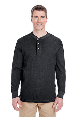 UltraClub 8456 - Mini Thermal Henley