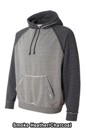 JAmerica 85828 Vintage Heather Hooded Sweatshirt