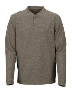 North End 88221 Excursion Nomad Performance Waffle Henley