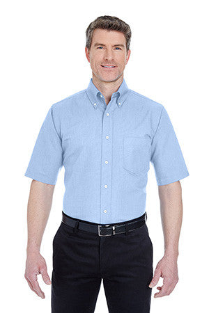 UltraClub 8972T - Classic Wrinkle-Resistant TALL Short-Sleeve Oxford