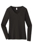 District ® Women's Very Important Tee ® Long Sleeve V-Neck DT6201
