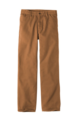 Carhartt CTB11 Washed-Duck Work Dungaree Pants