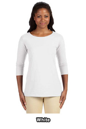 Devon & Jones DP192W - Ladies Perfect Fit Ballet Bracelet-Length Knit Top