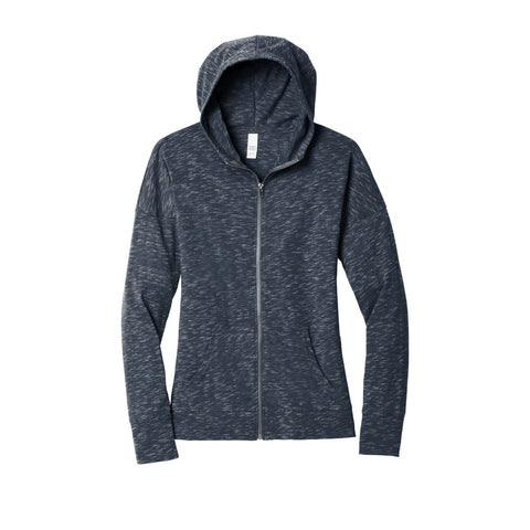 District ® Women's Medal Full-Zip Hoodie DT665