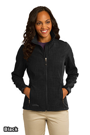 Eddie Bauer EB533 - Ladies Shaded Crosshatch Soft Shell Jacket
