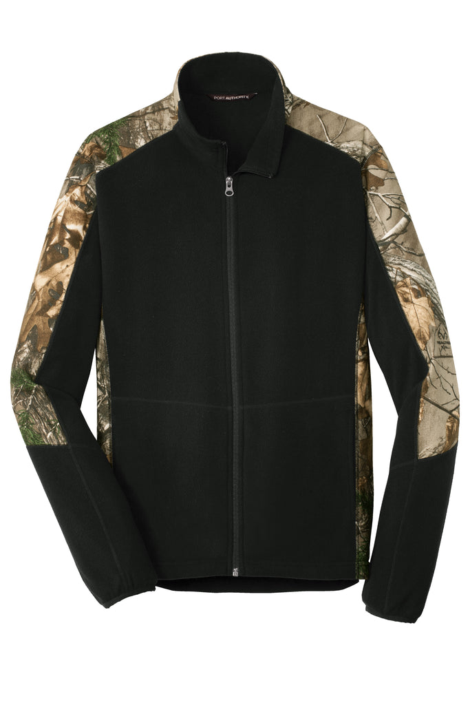 Port Authority F230C Camouflage Microfleece Full Zip Jacket