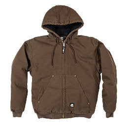 BERNE HIGHLAND WASHED HOODED JACKET HJ375