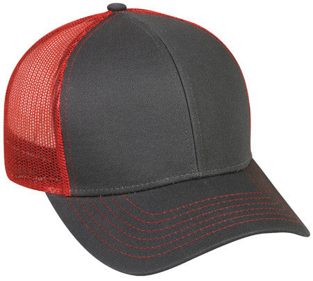 Outdoor Cap MBW-600 Plastic Snap Mesh Back Cap - Limit 2