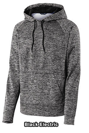 Sport Tek ST225 - Posicharge Electric Heather Fleece Hooded Pullover