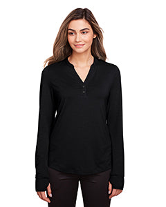 North End Ladies' Jaq Snap-Up Stretch Performance Pullover NE400W
