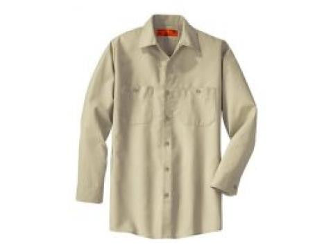 Red Kap SP14 - Long Sleeve Industrial Work Shirt