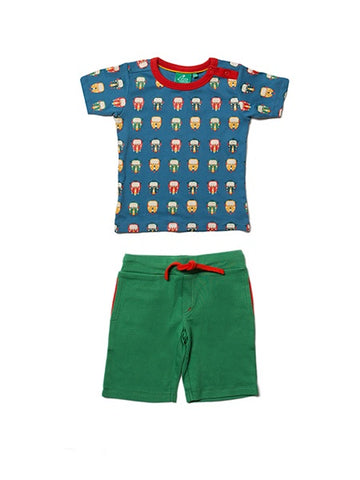 T Shirt & Shorts set - Tuk Tuk