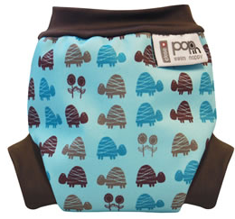 Blue Turtle Swim Nappy - Pikku