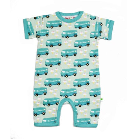 Ice Cream Truck Short Romper