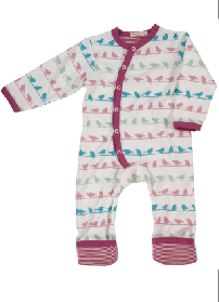 Multi Colour Bird Romper - Pikku