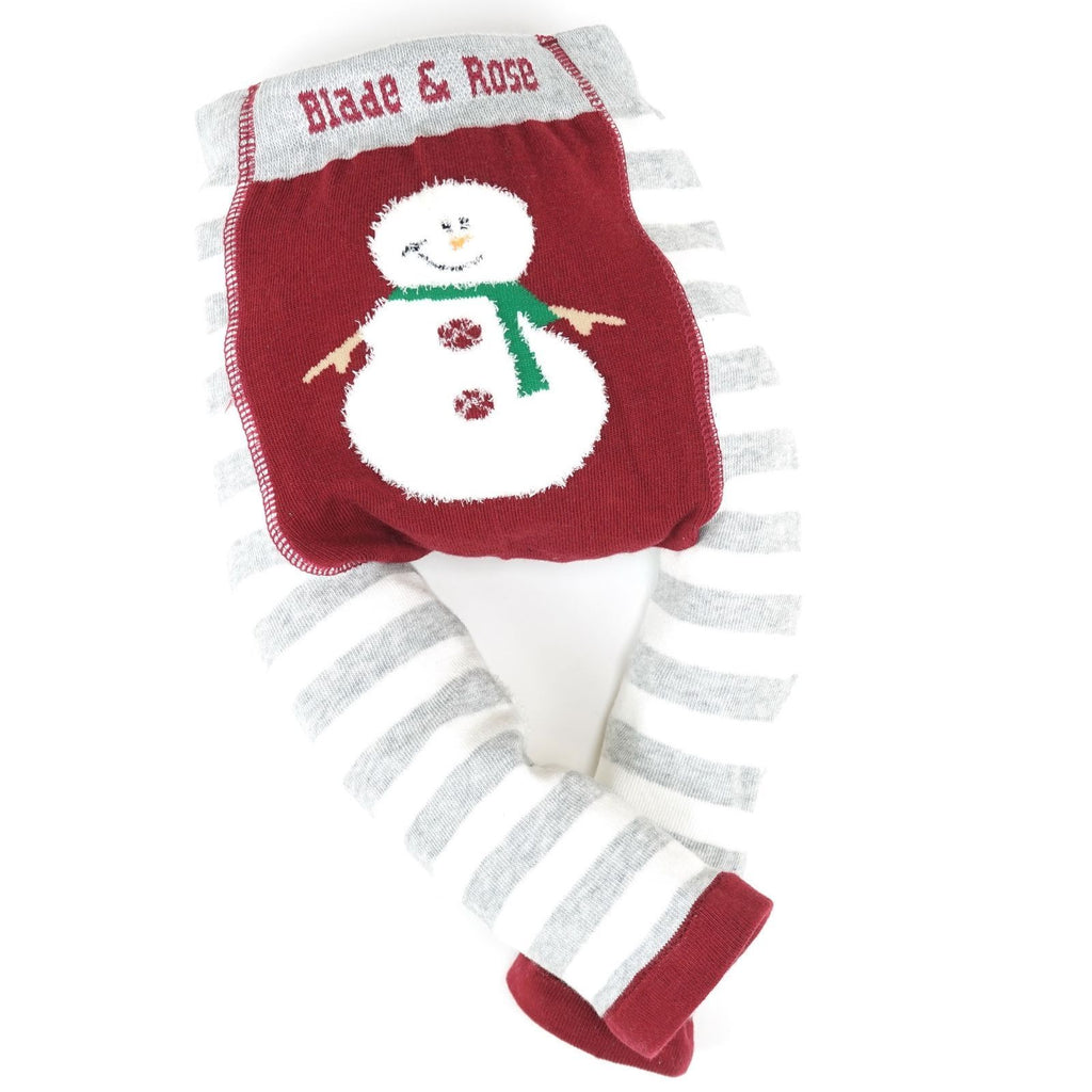 Leggings - Fluffy Snowman