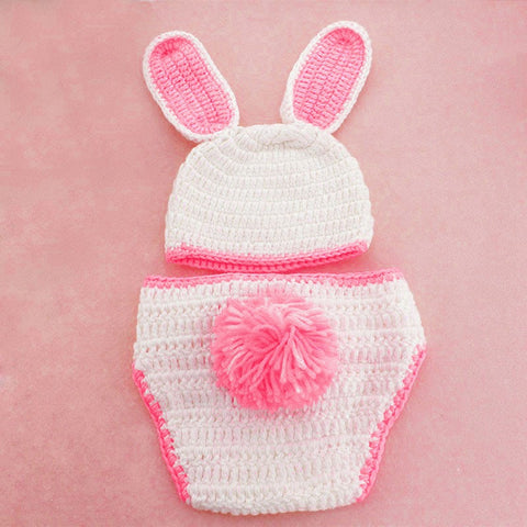 Knitted Bunny Set