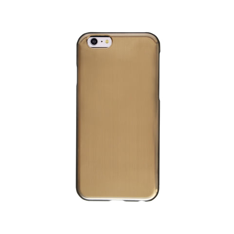 Felony Case Brushed Metallic iPhone 6 Phonecase in Gold on Teqtique