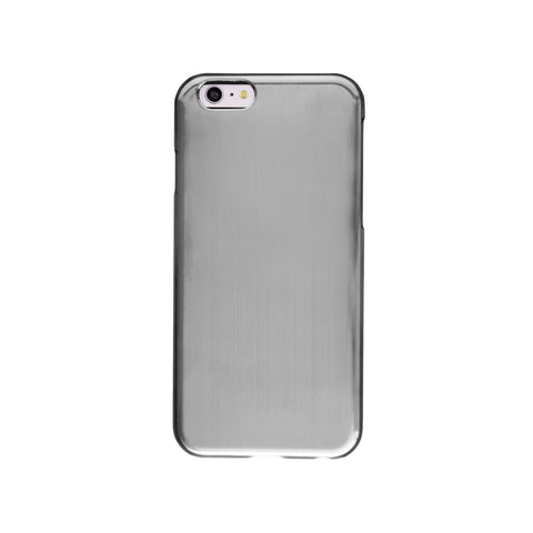 Felony Case Brushed Metallic iPhone 6 Phonecase in Silver on Teqtique