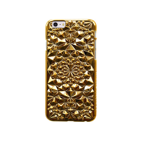 Felony Case Kaleidoscope iPhone 6 Phonecase in Gold on Teqtique