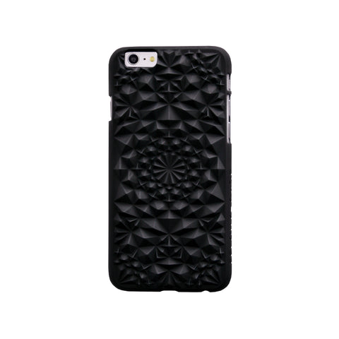 Felony Case Kaleidoscope iPhone 6 Phonecase in Matte Black on Teqtique
