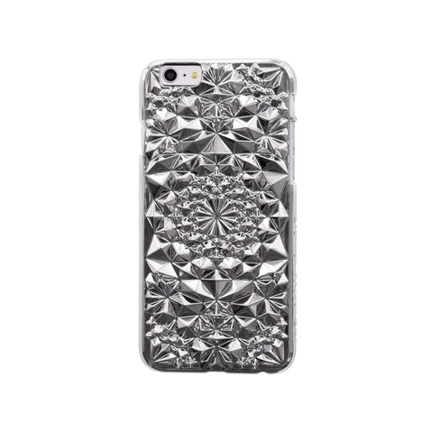 Felony Case Kaleidoscope iPhone 6 Phonecase in Silver on Teqtique