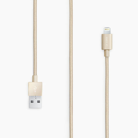 Le Cord Gold Apple Cable on Teqtique