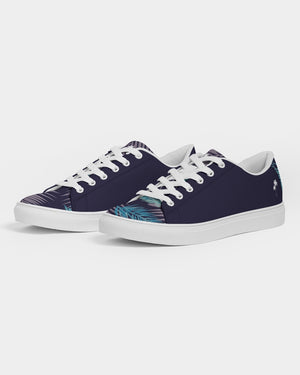 Dark Navy Blue Bahama Kama Men's Faux-Leather Sneaker