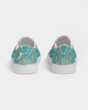 Arizona Sunrise 2 Tone Women's Slip-On Canvas Shoe
