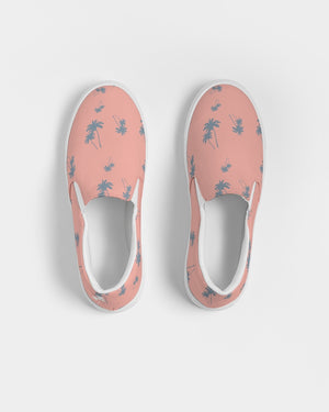 Peach Palms Women's Slip-On Canvas Shoe