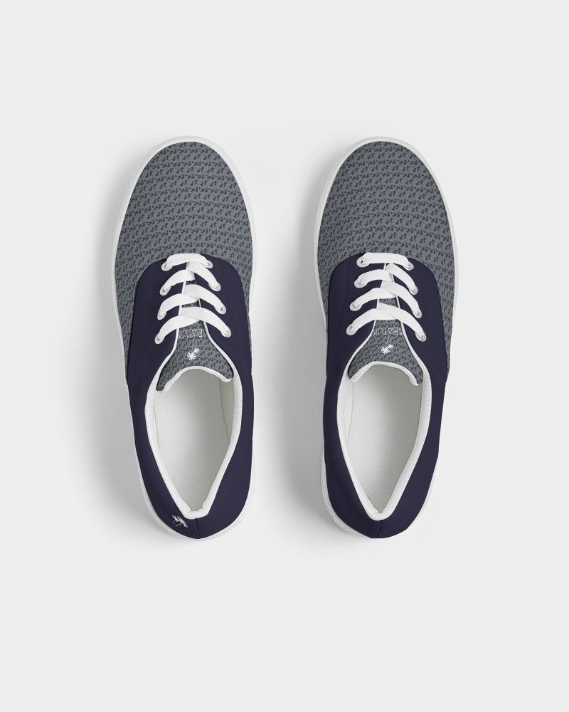 Nantucket Palms Men's Lace Up Canvas Shoe