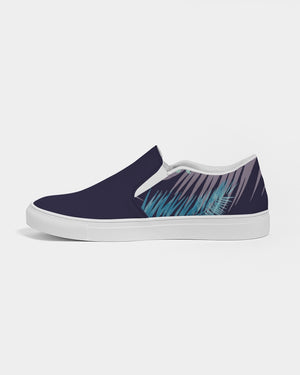 Dark Navy Blue Bahama Kama Men's Slip-On Canvas Shoe