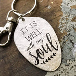 It is well keychain by kyleemae designs