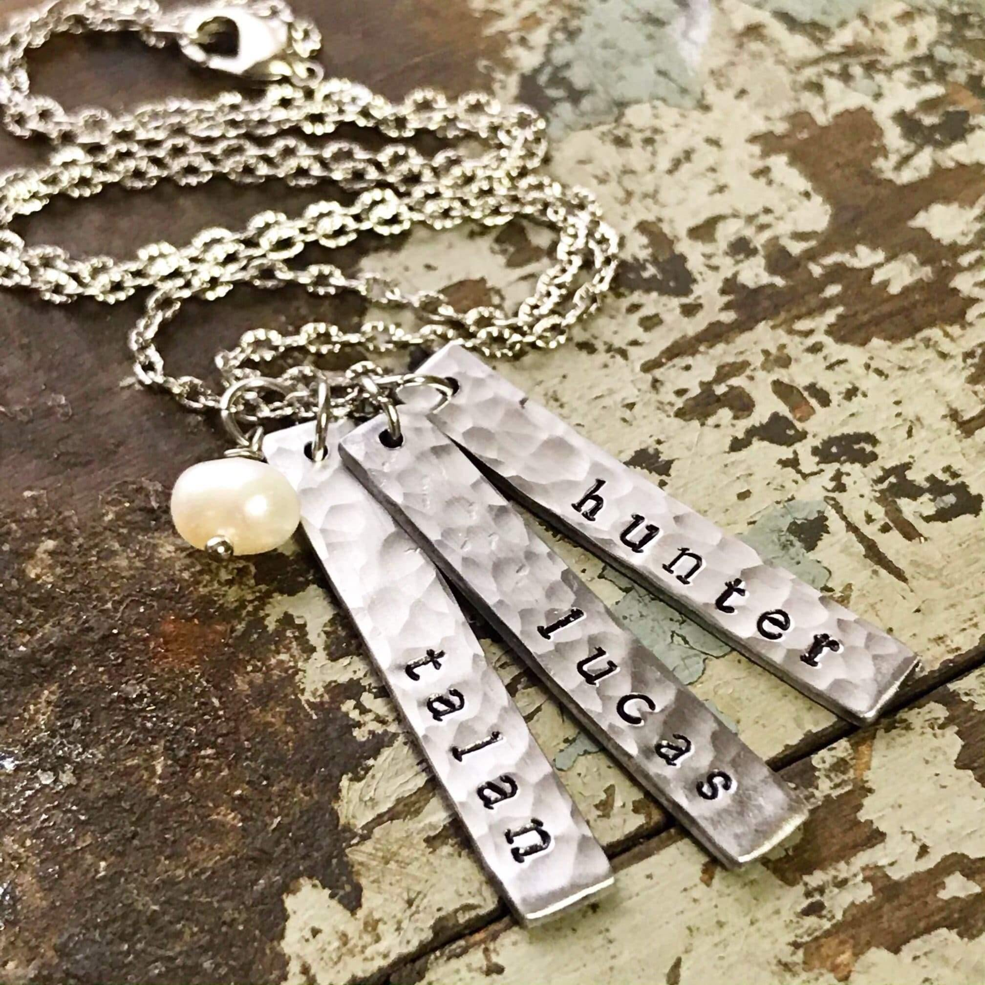 three name necklace kyleemae designs